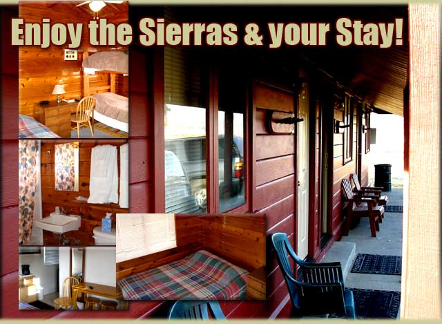 Cabins for Rent, Eastern Sierra Mountains, California